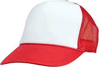 Best red white cap Reviews