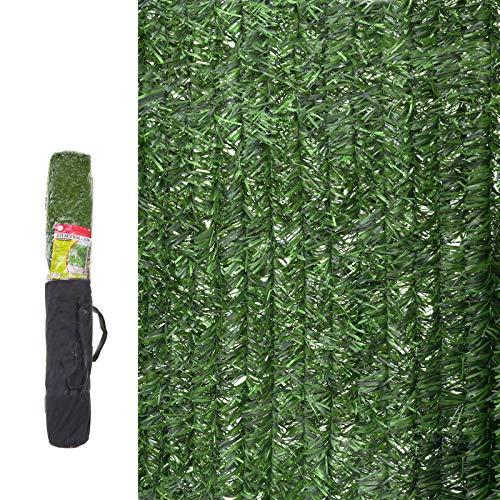 Seto Artificial de ocultación para jardín de plástico Verde - LOLAhome