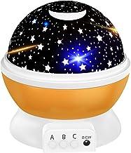 Tesoky Nachtlichtje Kinderen/Star Night Light Projector voor Kinderen,8 Kleuren Veranderen/Roteren - Beste Cadeaus voor Ki...