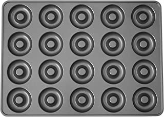 Wilton Industries Perfect Results 20-Cavity Mega Donut Pan, No Colour