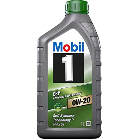 Mobil 1 100 Synthetisches Öl Motorschmiermittel Esp X2 0w 20 Packung 3 Liter Auto
