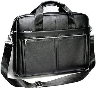 Handbags For Men, First Layer Cowhide Men's Business Handbag Shoulder Diagonal Bag Travel Computer Bag Briefcase