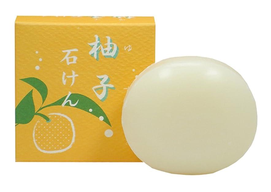 印象的な発生器超える柚子石けん 100g