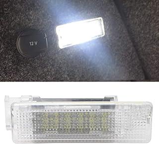 MOLEAQI 1 Piezas 12V 6000K Xenón Blanco LED lámpara Interior Maletero del Coche Maletero luz para V-W Golf Jetta Passat CC...