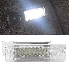 MOLEAQI 1 Piezas 12V 6000K Xenón Blanco LED lámpara Interior Maletero del Coche Maletero luz para V-W Golf Jetta Passat CC B6 B7 lámpara de área de Carga
