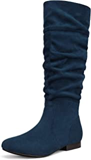 Details about  /US 10.5 Womens Denim Over Knee Long Boots Nightclub Bar High Heel Shoes Feng8