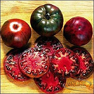 Black Krim Tomato Seeds ? Organic Heirloom Non-GMO ? Rare Russian Black Krim (PowerGrow Systems Pack of 30+ Seeds)
