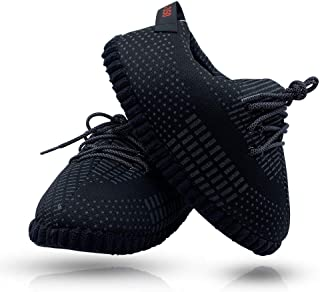 SoleSlip Sneaker Slippers | Men and Women | Comfy and Cozy | Perfect for Lounging | Pure Polyester | One Size Fits All | Trendy Design |Yeezy Slippers 2019 …