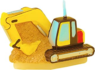 ILIKEPAR Children's Party Birthday Gift Birthday Candle Excavator Candle for boy for Cake