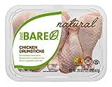 Just BARE All Natural Fresh Chicken, Drumsticks, 1.25 lb