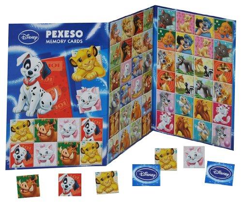 alles-meine.de GmbH Gedächtnis Spiel - Disney Tiere - Simba Dalmatiner Bambi Dschungelbuch Dumbo Susi Strolch Marie - zum Ausschneiden - für Jungen Mädchen Bastelset Memo Spiel G..