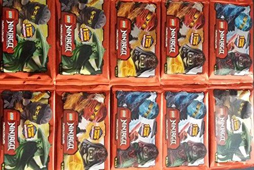 LEGO 10 Booster Ninjago Karten Serie 2 - 10 Pack á 5 Sammelkarten
