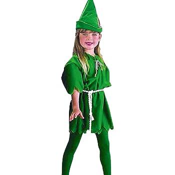 infantil Peter Pan Disfraz DR CIERRE ADHESIVO CUENTO DE HADAS ...