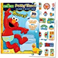"""Sesame Street""""Potty Time"""" Potty Training Coloring and Activity Set - with Progress Chart and Reward Stickers from Bendon Publishing"""