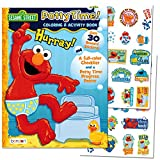 Sesame Street'Potty Time' Potty Training Coloring and Activity Set - with Progress Chart and Reward Stickers
