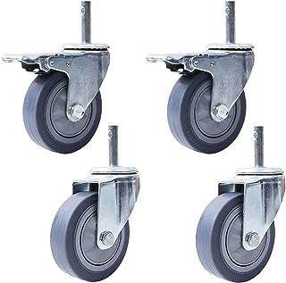 STEM M14 x 60 mm, wielen met wielen, voor horeca, zware industrie, medische wielen, reservewielen, voor hotelschool