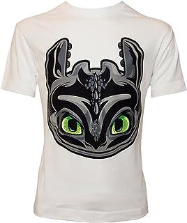 Camiseta para Niño con Diseño de DreamWorks Cómo Entrenar a tu Dragón, Cabeza de Desdentado