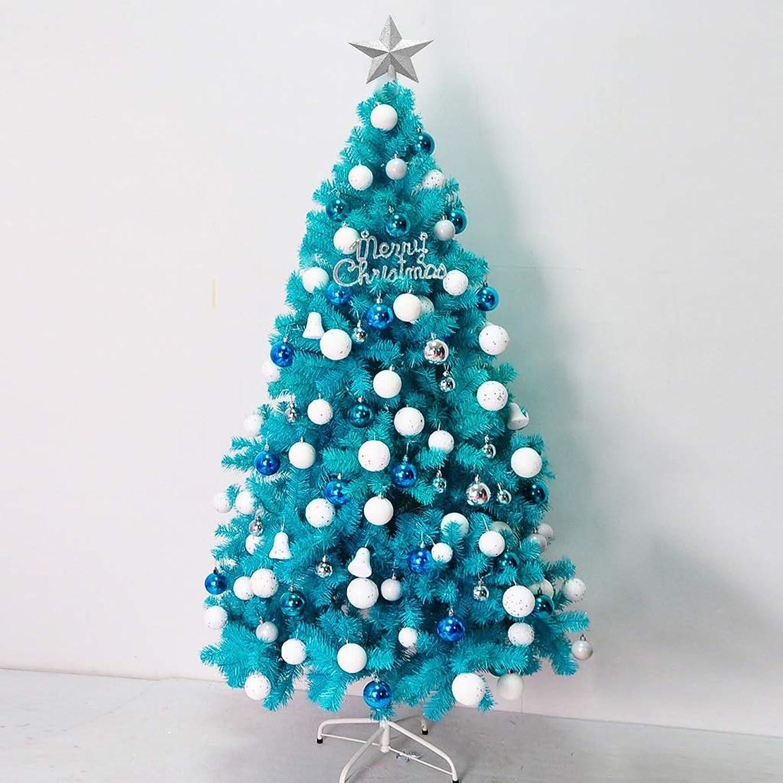 測る失礼振るBBJOZ ピーコックブルークリスマスツリー2.1メートルブルークリスマスツリーレイクブルークリスマスツリー