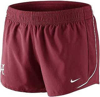 NIKE Alabama Crimson Tide Womens 10K Performance Shorts - Crimson (Medium)