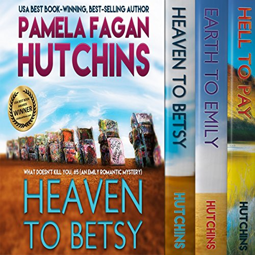 The Emily Box Set     What Doesn't Kill You, Books 5-7              By:                                                                                                                                 Pamela Fagan Hutchins                               Narrated by:                                                                                                                                 Tracy Hundley                      Length: 31 hrs and 6 mins     48 ratings     Overall 4.3