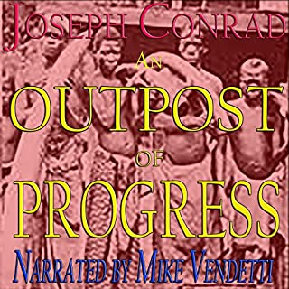 An Outpost of Progress audiobook cover art