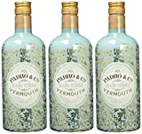Vermouth Padró & Co Blanco Reserva - 3 botellas de 750 ml, Total: 2250 ml