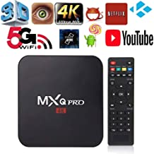 MXQ pro 4K Android TV Box Ram 2GB ROM 16GB Android 7.1 4K HD 3D 2.4G WiFi H3 Quad Core Media Player Support 5G Network
