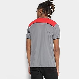 Camiseta Flamengo Braziline Up Adulto - Cinza