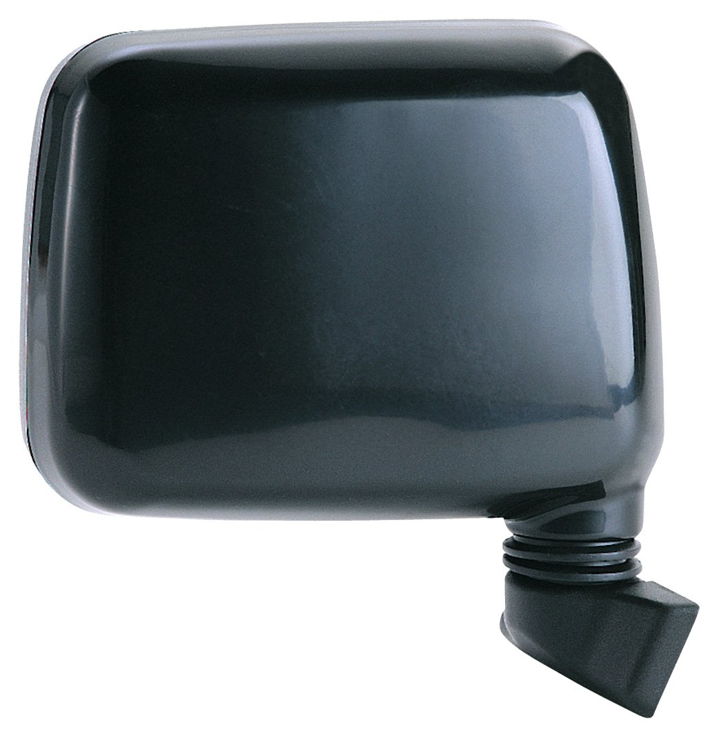 Fit System 64003I Isuzu Passenger Side Replacement OE Style Manual Folding Mirror, Black
