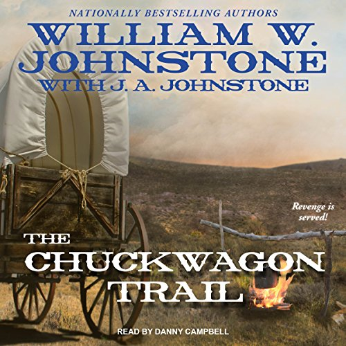 The Chuckwagon Trail audiobook cover art