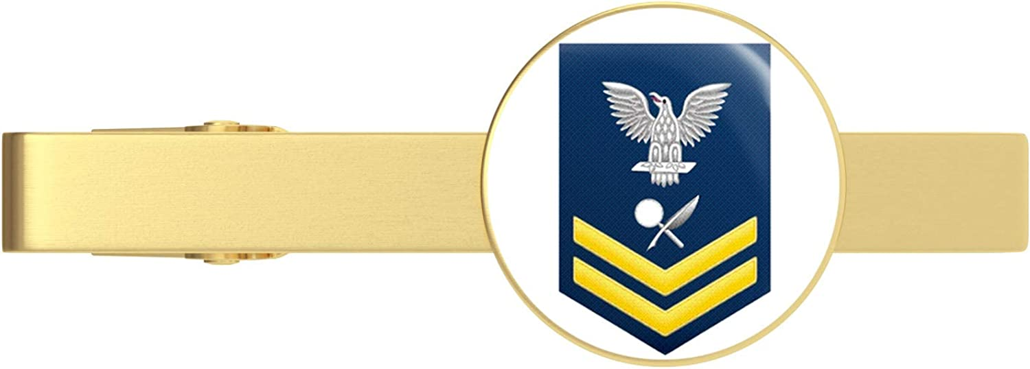 HOF Trading US Navy Gold Military is famous Specialist E-5 Intelligence Fashionable