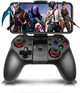 Gaming Grip Mobile Game Controller, Wireless Bluetooth Joystick Video Games Controller Gamepad Compatible with iPhone/ipad...