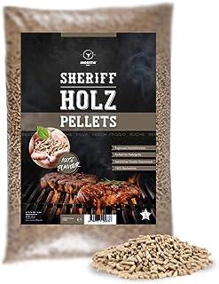 Moesta-BBQ 19304 5 kg sheriff lövträpellets – rök arom för alla smakar – bok – söt, rökig eller kryddig