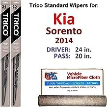 Best 2014 kia sorento wiper blade replacement Reviews