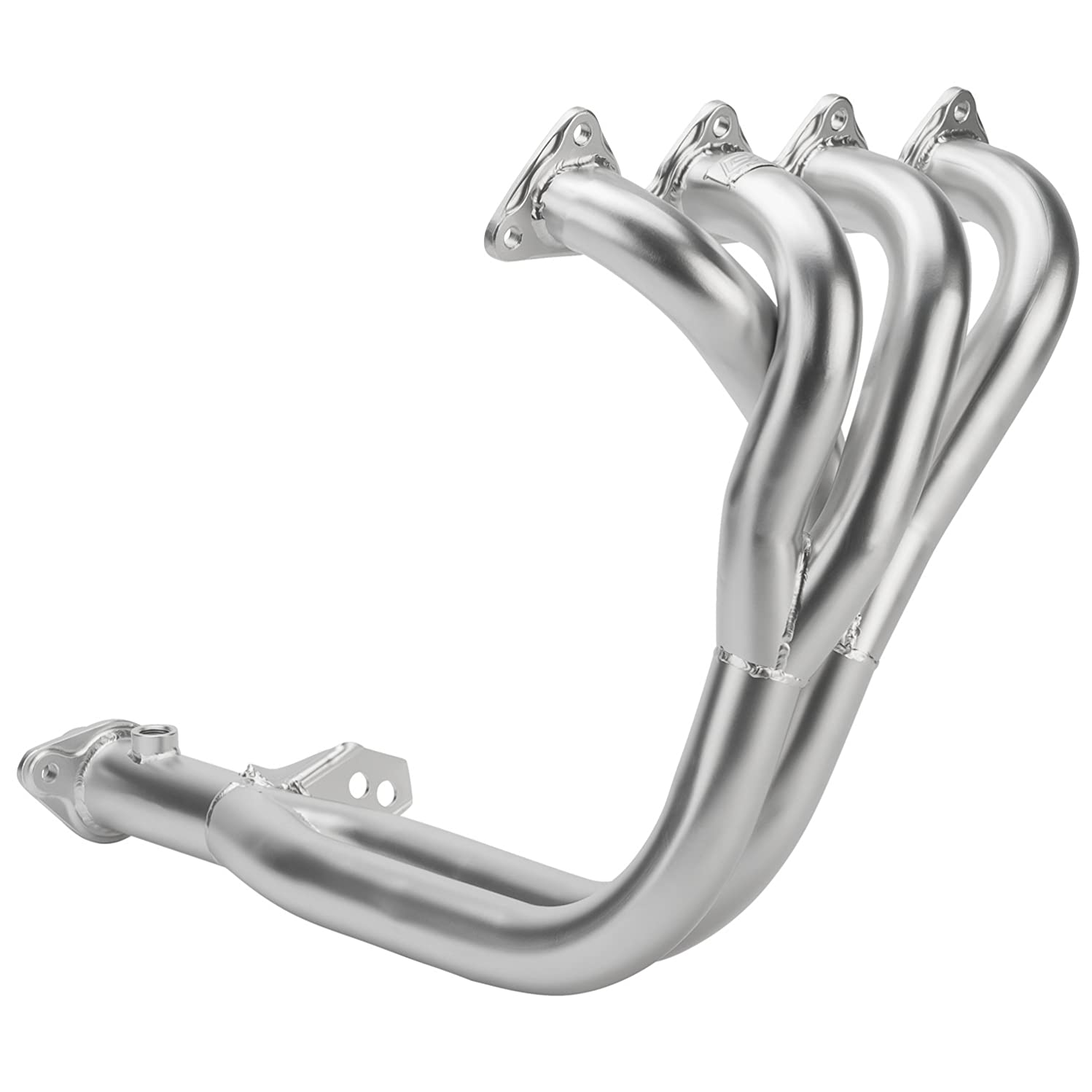 DC Sports AHC6511 Acura Integra GS-R 4-2-1 Header with Ceramic Coating, Silver
