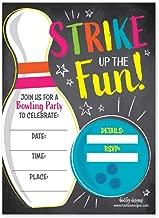 invitation bowling birthday party