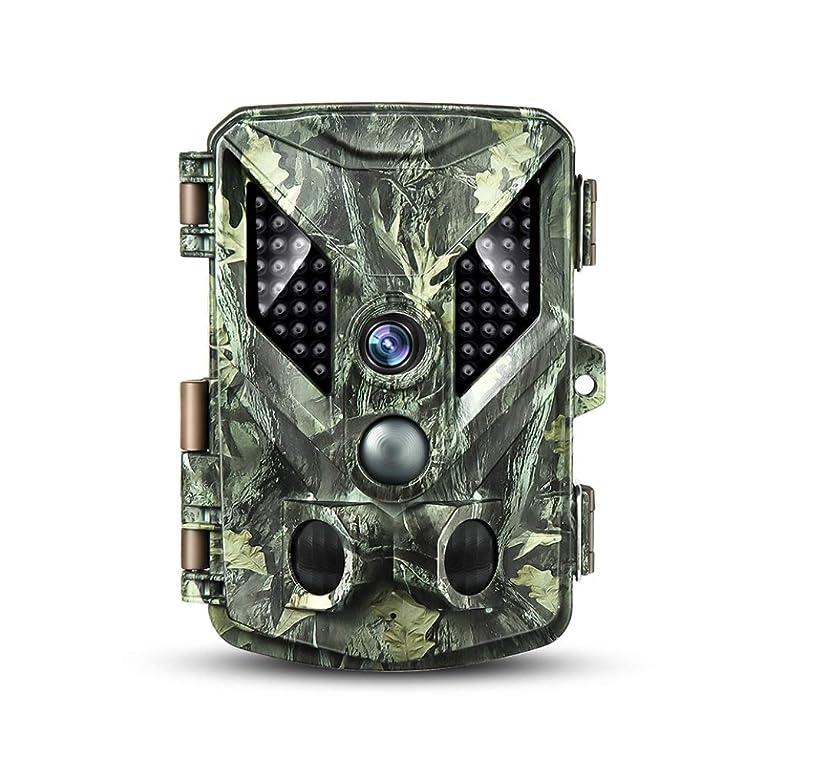 うま放射能すりトレイルカメラ 防犯カメラ 【MicroSDカード32GB付き】【上書き可】電池式 1600万画素 1080P 防水IP67 屋外対応 《IC-YM188》