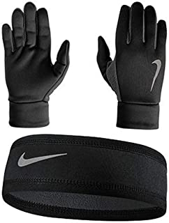 Nike Men`s Thermal Headband and Glove Set