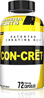 Promera Sports, CON-CRET Creatine HCl Powder, Micro-Dose Creatine, No Bloating, No Upset Stomach, No Water Retention, No L...