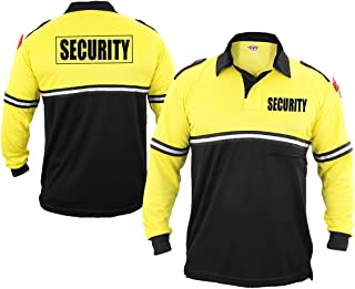 First Class Security 100% Polyester Two Tone Bike Patrol Shirt w/Zipper Pocket - Long Sleeve