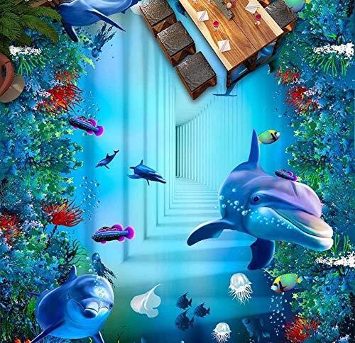 Baldosas 3d Personalizar papel de pared 3d para sala de estar paredes de papel tapiz 3d pintura de suelo 3d-400 * 280cm