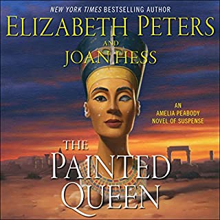 The Painted Queen     An Amelia Peabody Novel of Suspense              Written by:                                                                                                                                 Elizabeth Peters,                                                                                        Joan Hess                               Narrated by:                                                                                                                                 Barbara Rosenblat                      Length: 13 hrs and 18 mins     5 ratings     Overall 4.4