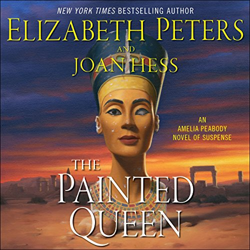 The Painted Queen audiobook cover art