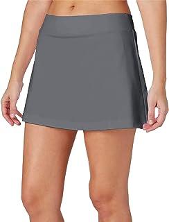 H HIAMIGOS Women's Tennis Skirts Lightweight Athletic Skorts Short with Pocket Golf Sports Workout Skorts Running Skirts