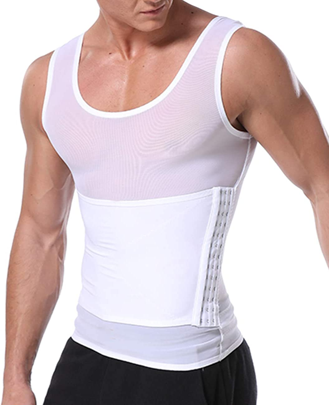 RIBIKA Slimming Popular shop is the Gorgeous lowest price challenge Body Shaper Vest Men Worko Compression for Shirt