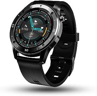 YCGSHOP - Reloj inteligente para Android e iOS, IP67 hermético al polvo y resistente al agua con monitor de ritmo cardíaco...
