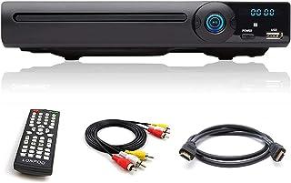 comprar comparacion Reproductor de DVD para TVs, All Región Gratis, HDMI / Scart / RCA Salida conectada, con USB, Mic Puerto y Control Remoto ...