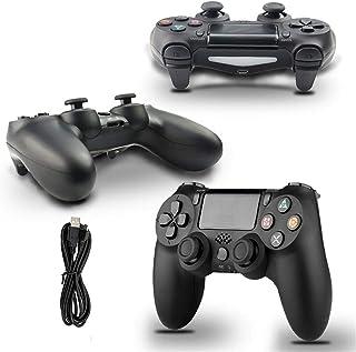 ألعاب الكمبيوتر الشخصي Suitable For PS4 Controller Gamepad For Android Phone PC 4 Dual Impact Joystick Remote Control Wire...