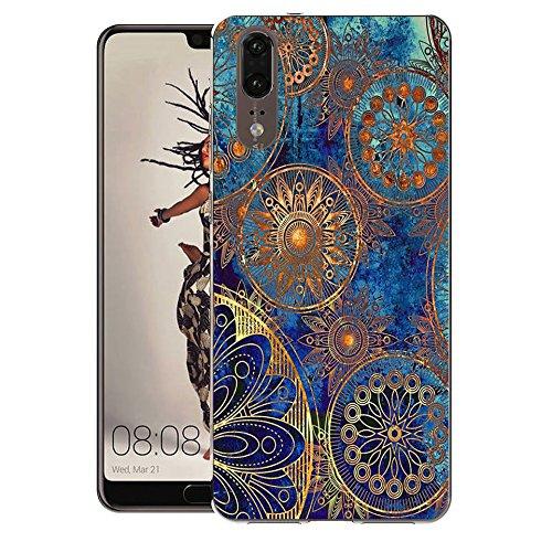 Huawei P20 Handy Tasche, FoneExpert® Ultra dünn TPU Gel Hülle Silikon Hülle Cover Hüllen Schutzhülle Für Huawei P20