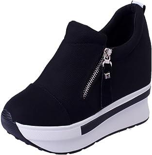 Overdose Wedges Boots Platform Shoes Slip On Ankle Boots